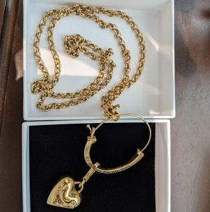 RARE juicy couture charm necklace